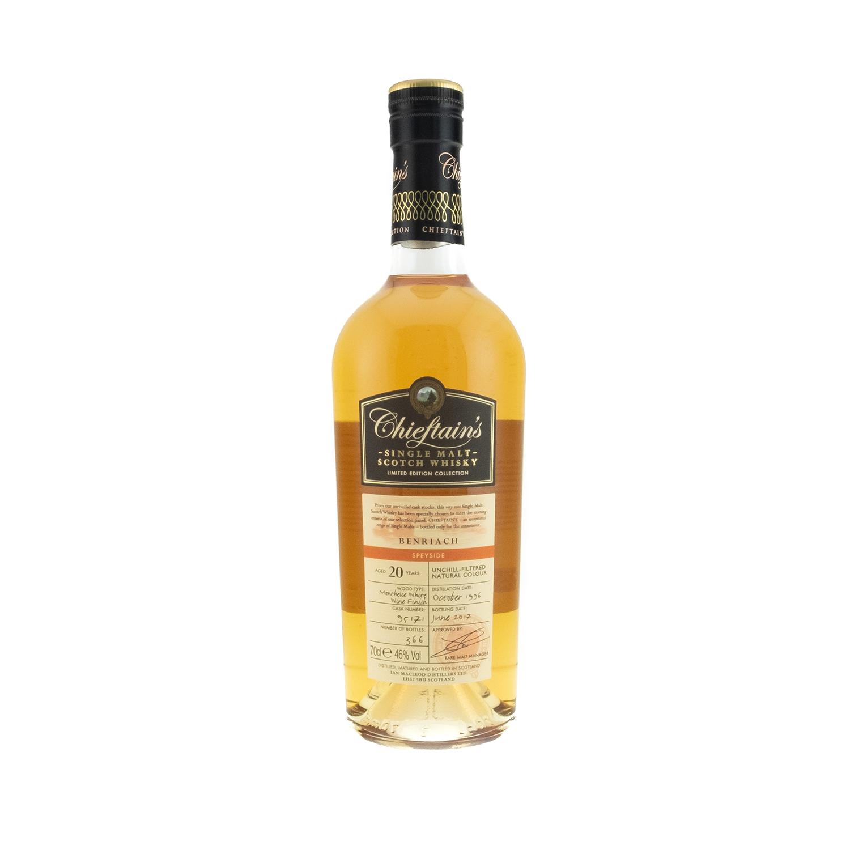 Whisky_Chieftains_Benriach_Speyside_20y_001