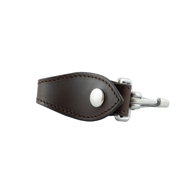 Schlüsselanhänger aus echtem Leder mit Karabinerverschluss 5