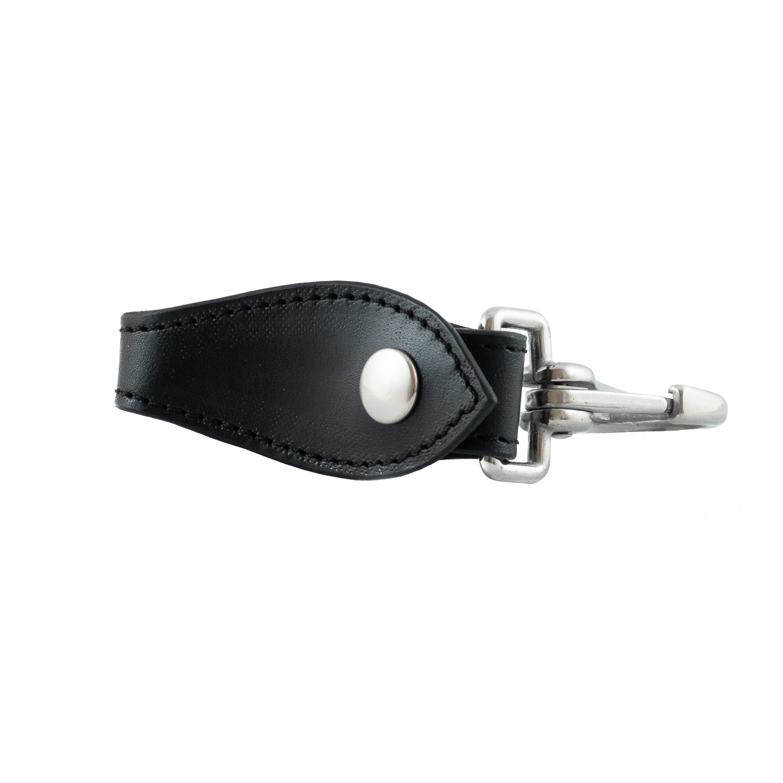 Schlüsselanhänger aus echtem Leder mit Karabinerverschluss 09