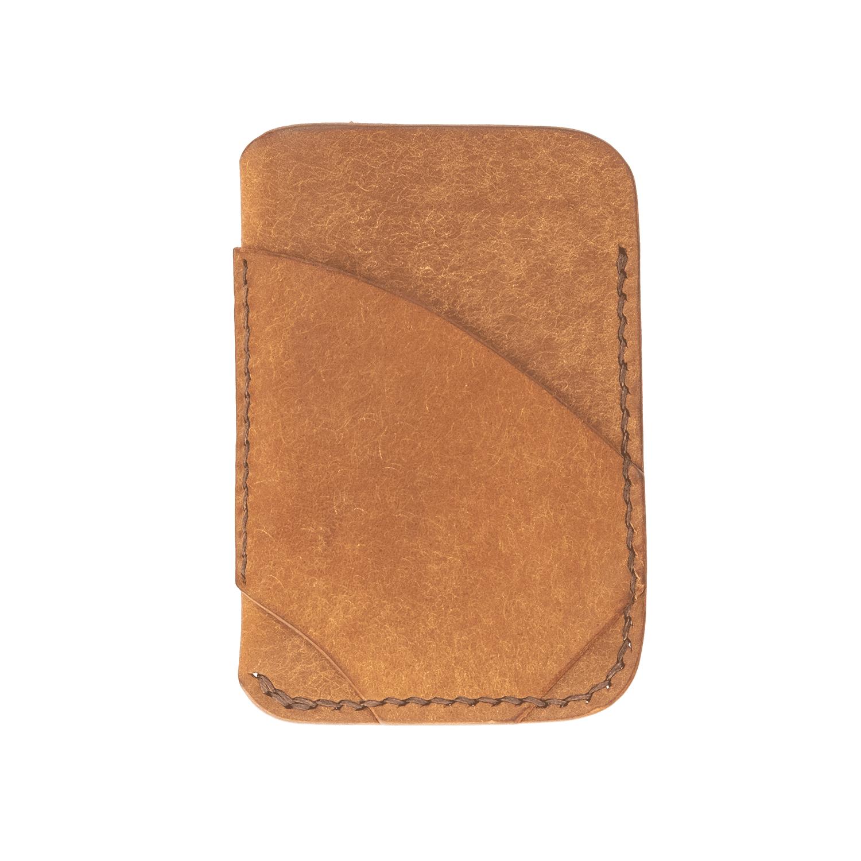 Etui für Bankkarten, Kreditkarten aus Echtleder, Pueblo-Leder mit Münzfach 1