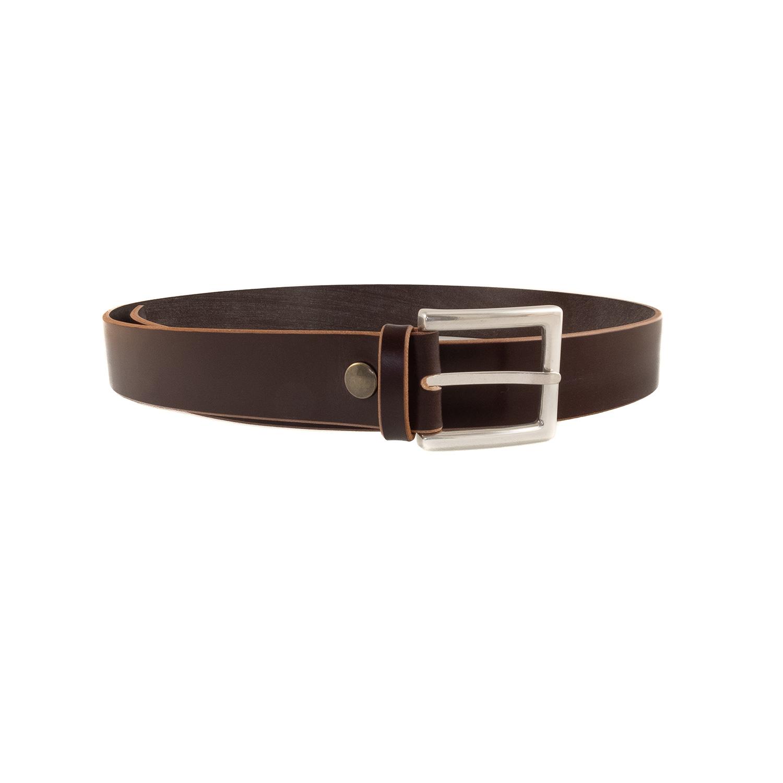 Ledergürtel english leather dunkelbraun 04