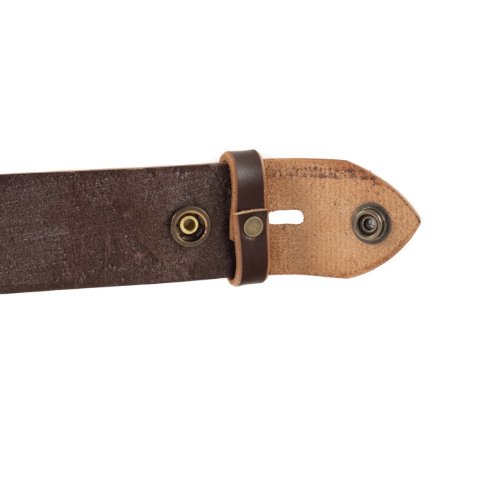 Ledergürtel english leather dunkelbraun 02